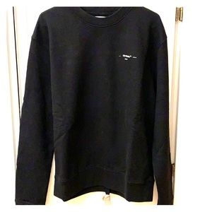 NWT Off-White Slim Crewneck Sweatshirt SS20